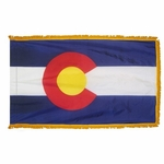 Indoor and Parade Colorado State Flags