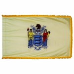 Indoor and Parade New Jersey State Flags