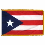Indoor and Parade Puerto Rico State Flags