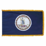 Indoor and Parade Virginia State Flags