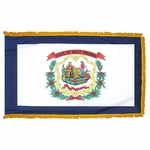 Indoor and Parade West Virginia State Flags