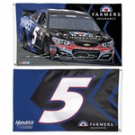 Kasey Kahne Two-Sided NASCAR Flag