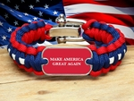 Make America Great Again Survival Bracelet