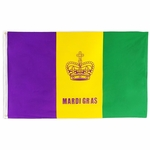 Mardi Gras Flags & Banners
