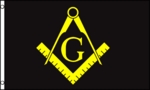 Masonic Flag (Black)