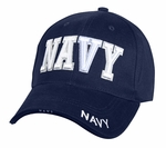 Low Profile Deluxe Navy Cap