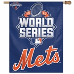 "NY Mets 2015 National League Champions 27"" x 37"" Banner"
