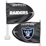 Oakland Raiders Car Flag