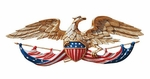 Patriotic Hand Painted Eagle Plaque