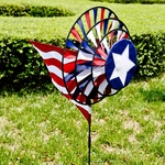 Patriotic Yard Spinner