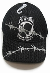 POW/MIA Barbed Wire Black Cheese Cap