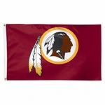 Premium 3' X 5' Washington Redskins Flag
