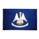 Premium Nylon Outdoor Louisiana State Flags
