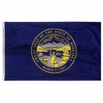 Premium Nylon Outdoor Nebraska State Flags