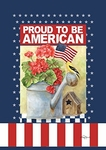 Proud to be an American Garden Banner