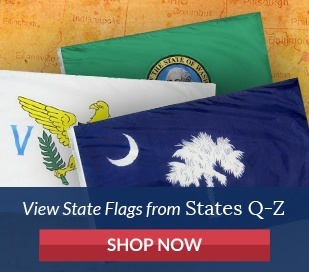 State Flags - States beginning with letter Q Through Z