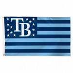 Tampa Bay Rays Stars and Stripes Flag