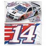 Tony Stewart Two-Sided NASCAR Flag