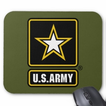 US Army Logo Mouse Pad