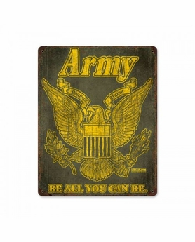 US Army Retro Steel Sign
