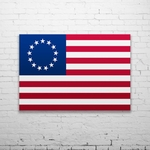 Wall Flag - Betsy Ross Flag