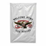 Welcome Home Our Heroes Banner Flag
