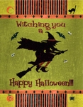 Witching You a Happy Halloween Banner