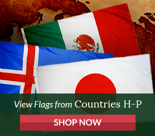 View flags from countries H-P