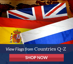 View flags from countries Q-Z