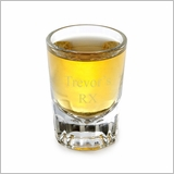 Distinction Engraved Shot Glass - Free Personalization