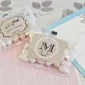 Personalized Vintage Jelly Bean Favors