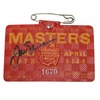 Lot 407 - 1972 Masters Badge Signed by Jack Nicklaus JSA COA