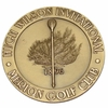 Lot 16 -David Eger's 1997 10K Hugh Wilson Invitational Gold Medal-Merion Golf Club Amateur