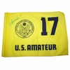 Lot 4 -Signed Course Flown 17th Hole Flag From Significant Tiger Woods Win @ 1994 U.S. Amateur