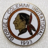 Lot 466 - 1993 George L. Coleman Invitational Seminole Contestant Pin