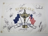 Lot 438 - 2006 Multi-Signed Ryder Cup at The K Club - Team Europe JSA COA