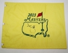 Lot 441 - Adam Scott Signed 2013 Masters Embroidered Flag JSA COA