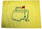 2004 Masters Embroidered Golf Pin Flag - Phil Mickelson Champion *ONLY 1 LEFT*