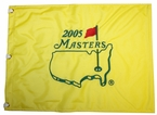 2005 Masters Embroidered Golf Pin Flag - Tiger Woods Champion