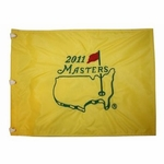 2011 Masters Embroidered Golf Pin Flag - Charl Schwartzel Winner!