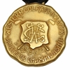 Lot 25 - Frank Stranahan's Medal As 1946 Western Golf Amateur Champion-14k Gold Award
