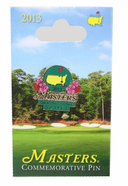 2013 Masters Merchandise - Masters Commemorative Pin* Last one*