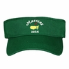 2014 Dated Masters Low Rider Visor in Green