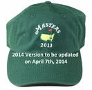 2014 Masters Green Caddy Hat