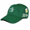 2014 Masters Green Side Logo Caddy Hat