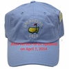 2014 Masters Light Blue Caddy Hat