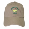 2014 Masters Hat with Date - Khaki