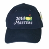 2014 Masters Merchandise- Masters Dated Caddy Hat - Navy