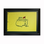 2014 Masters Pin Flag - Framed