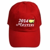 2014 Masters Red Caddy Hat